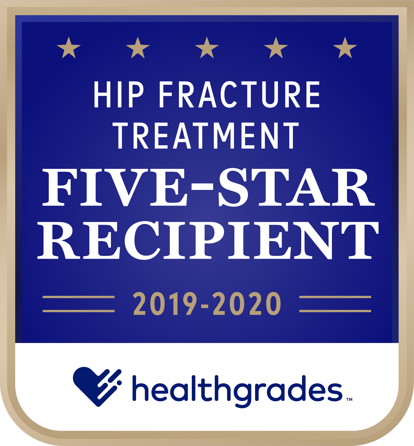 HG Five Star for Hip Fracture Treatment 2019-2020